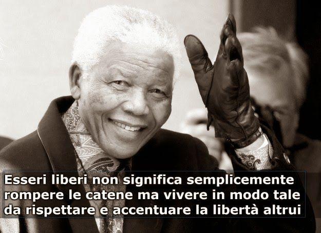 PETALI DI CILIEGIO ...per coltivare la speranza: La vera libertà si realizza nel rispetto degli alt...
