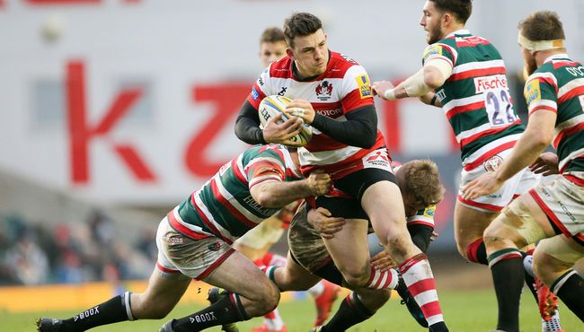 Leicester Tigers v Gloucester Rugby - in pictures