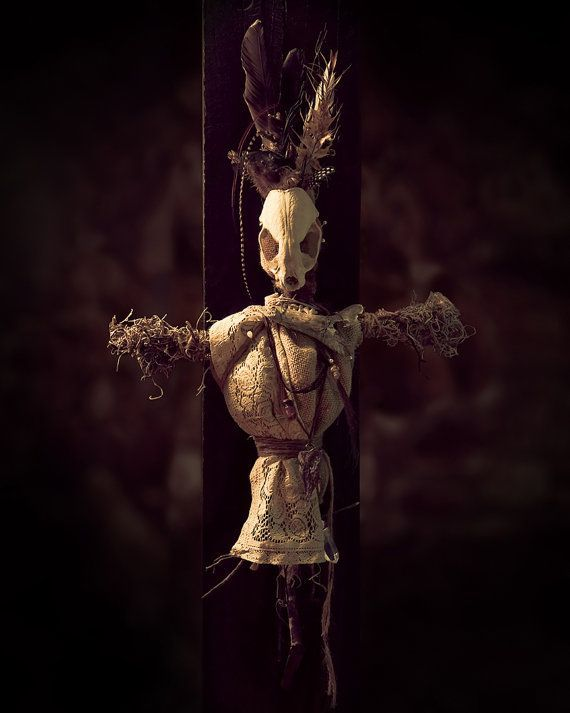 real-life voodoo dolls for reference