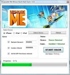 Despicable Me Minion Rush Hack http://thegamecheaters.com/despicable-me-minion-rush-hack/