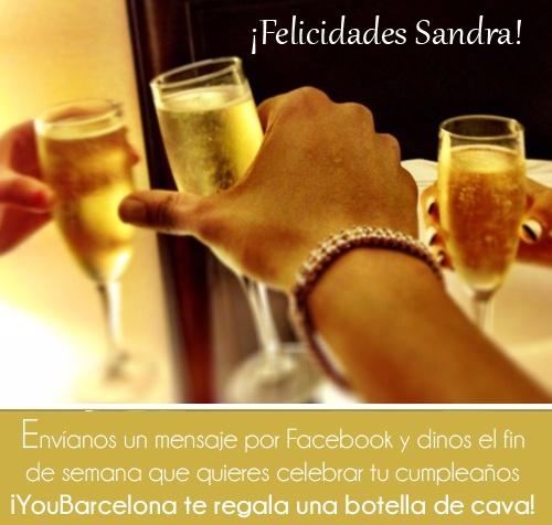 ¡Felicidades Sandra! #YouBarcelona