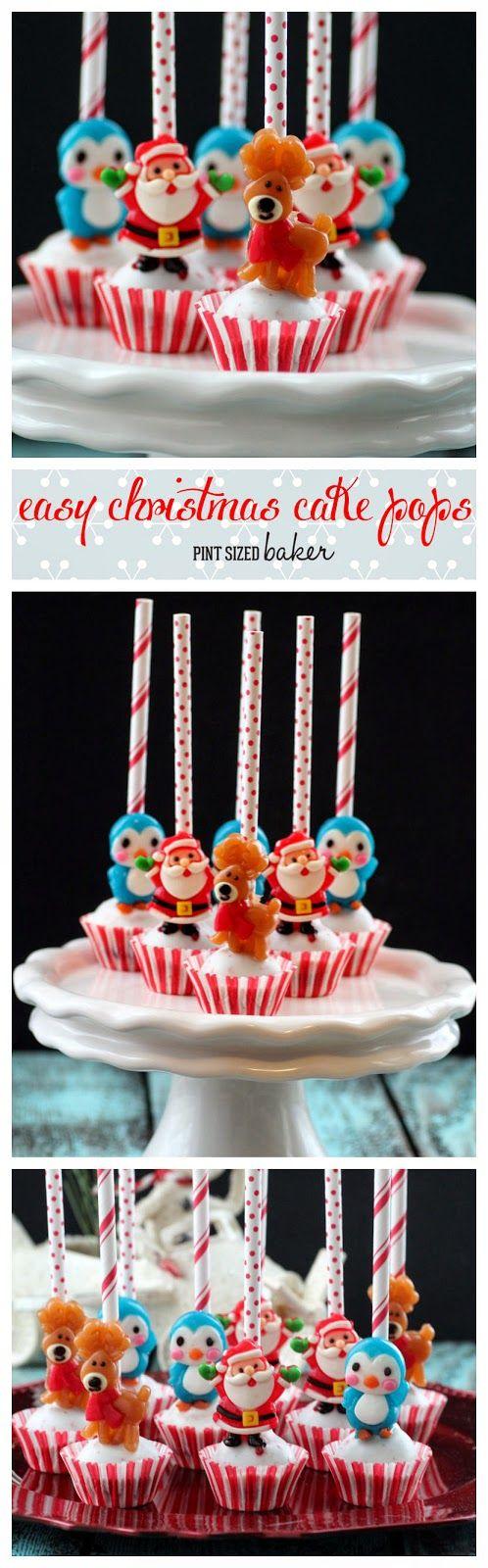 Pint Sized Baker: Easy Christmas Cake Pops
