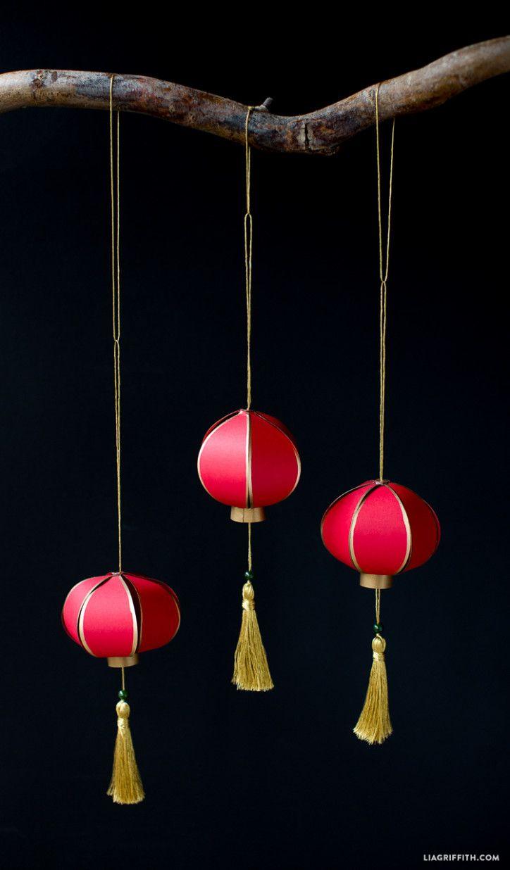 Diy chinese new year paper lantern paper lanterns for Paper lantern tutorial