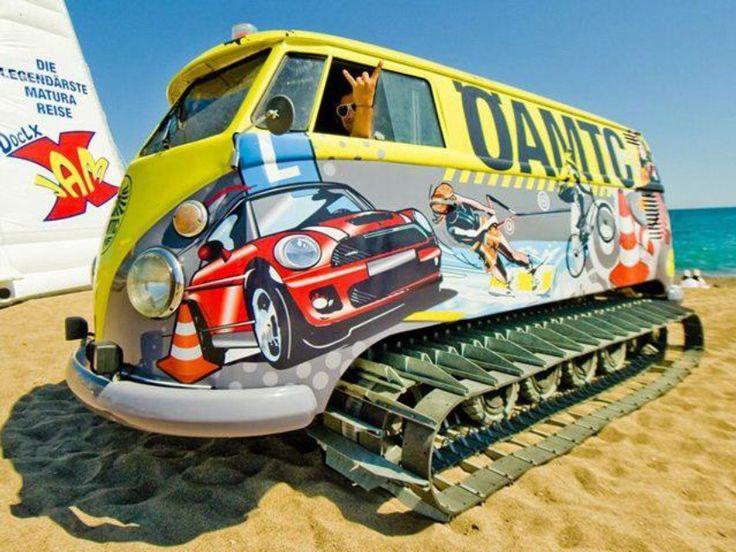 VW beach bus