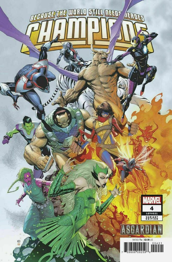 Asgardians of the Galaxy #10 Marvel Comic 2019 1st Print COVER A