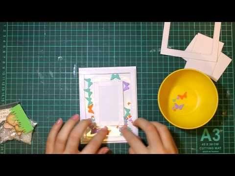 Фабрика CAS'a: открытка -шейкер