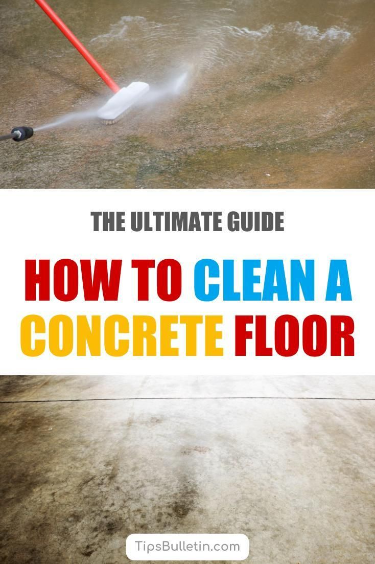 10 brilliant ways to clean a concrete floor cleaning