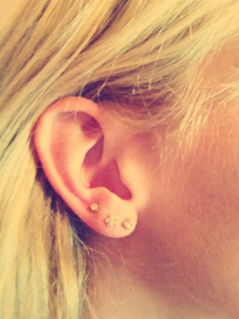 About to get my third lobe piercing!