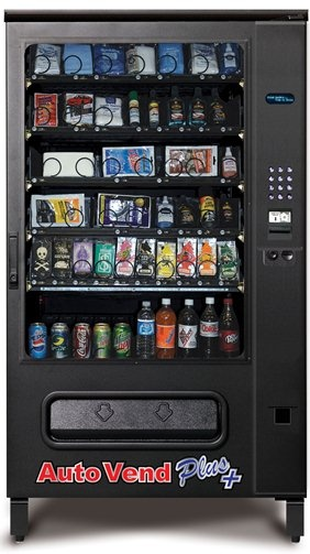 speedo vending machine