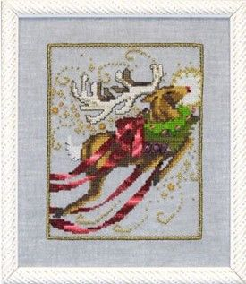 RUDOLPH - Counted Cross Stitch Pattern