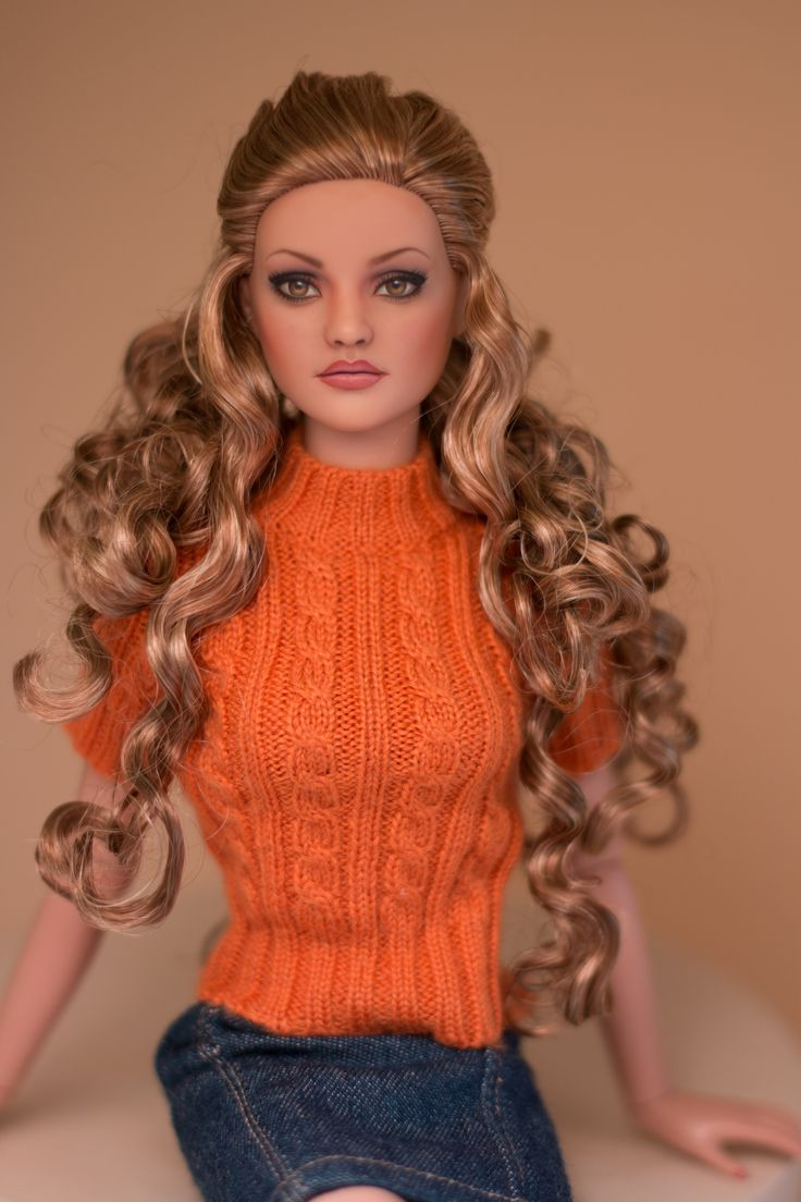 Cute hairstyles for barbie dolls - Fashion Doll Repaint By Jewelianne