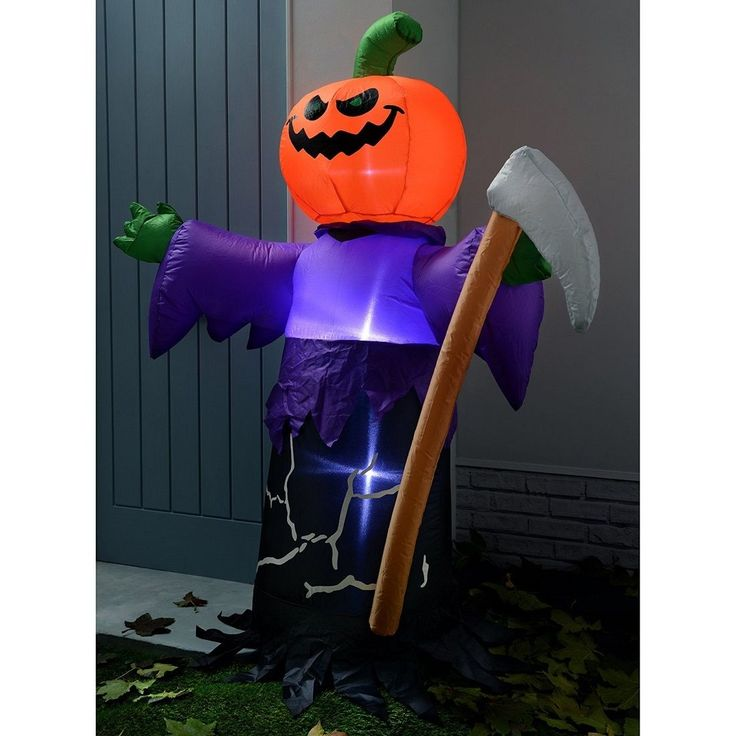 Details about Halloween Inflatable Decoration Airblown Out In Door - halloween inflatable decorations
