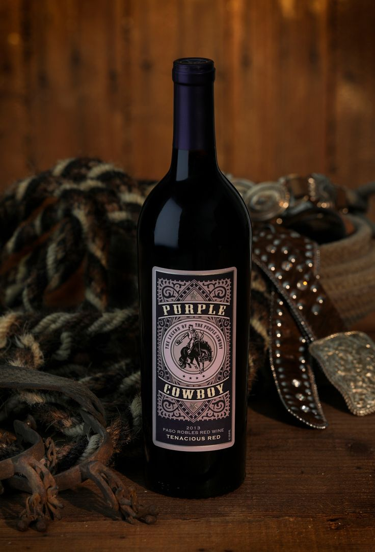Purple Cowboy is the official wine of the Professional Rodeo Cowboys Association (@ThePRCA) . Get it online here: