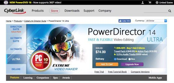 CyberLink's PowerDirector 14 Review