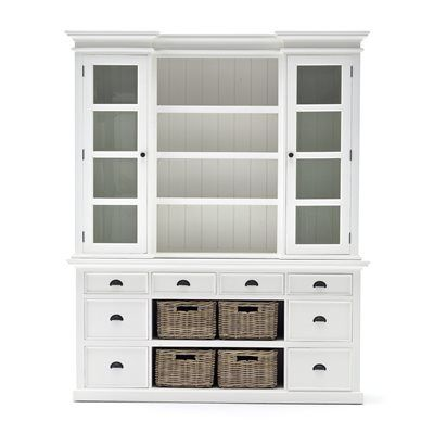 Nova Solo BCA600 Halifax Library Hutch Unit with Baskets