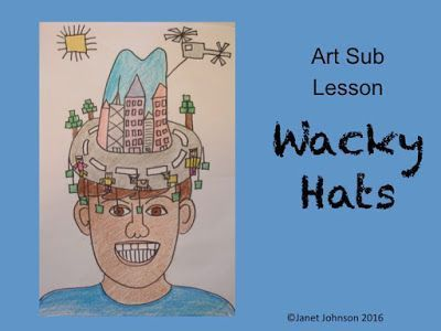 Art Sub Lessons: Crazy Hat Day - Art Sub Plan