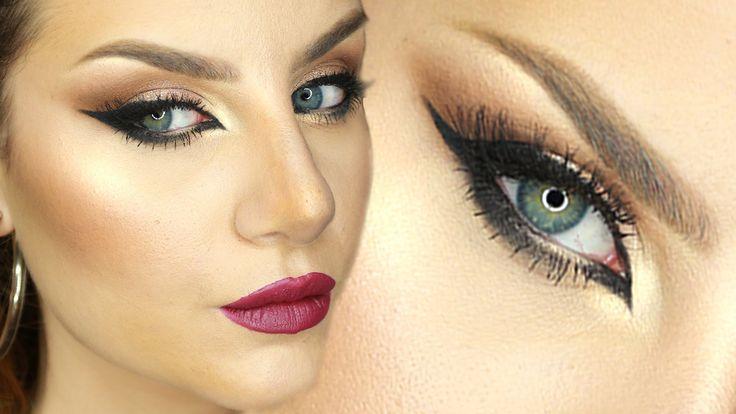 Makeup Tutorial Trucco Arabo Occhi da gatta e Eyeliner sexy ft. TheEmanu...