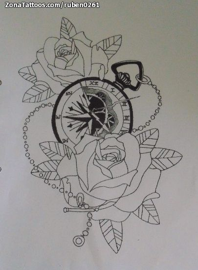 Diseos Rosas Para Tatuar Diseos Rosas Para Tatuar With Diseos Rosas