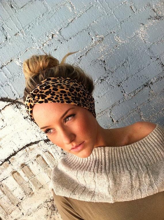 LOVE this style of headband & I always love leopard.