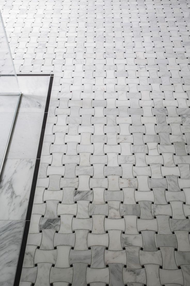 Black And White Mosaic Tile Floor