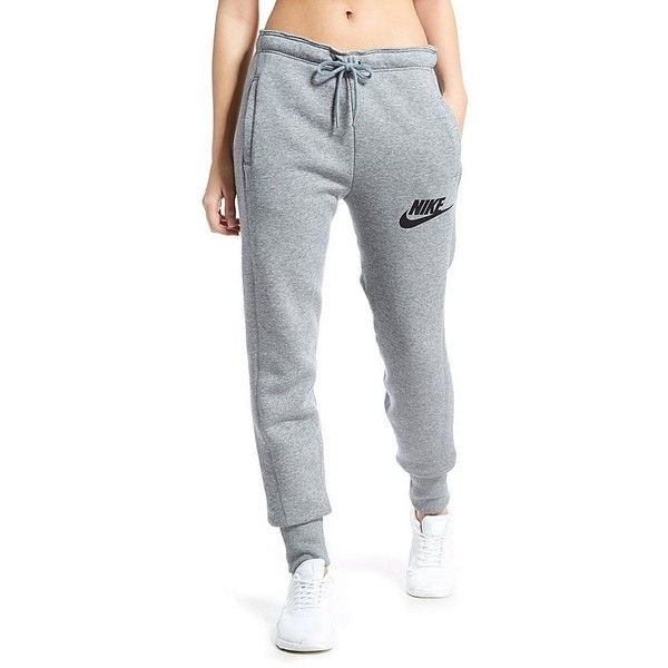 Nike Rally Jogger (81 CAD) ❤ liked on Polyvore featuring activewear, activewear pants, nike sportswear, nike, nike activewear pants and nike activewear