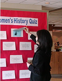 Women's History Library Display - Google Search