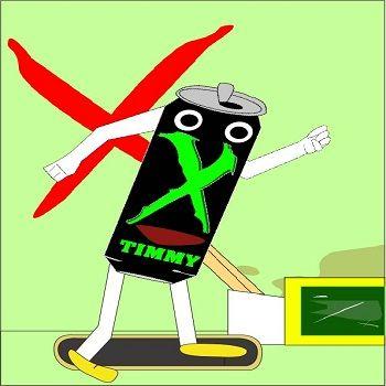 http://www.xtremehardmedia.com/monsterhard-friend/  Timmy character of MonsterHardMedia