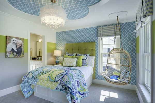 Fresh And Youthful – 10 Gorgeous Teen Girls' Bedroom Design Ideas