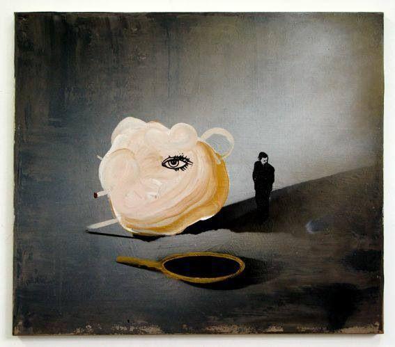 """Look at me"", 2013, 70x80cm"