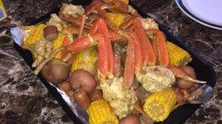 This crab boil delivers a full meal of Dungeness crabs, corn on the cob, andouille sausage, and potatoes for four in a single pot.
