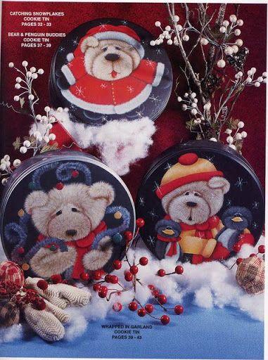 Folk, aprenda a pintar ursos - Geraldinapintura - Álbumes web de Picasa
