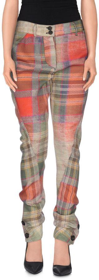 VIVIENNE WESTWOOD ANGLOMANIA Casual pants   <>  @kimludcom