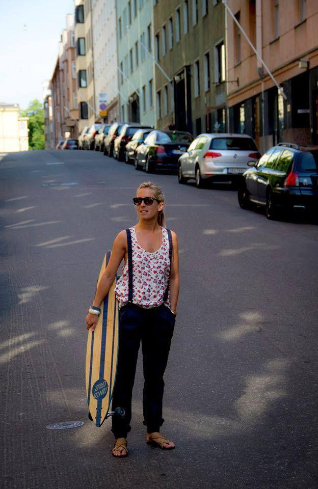 Skate boards - Nipo's Honky Tonk-Corner - Flow Styler Interview No 3 . http://www.creativecarrot-coaching.com/