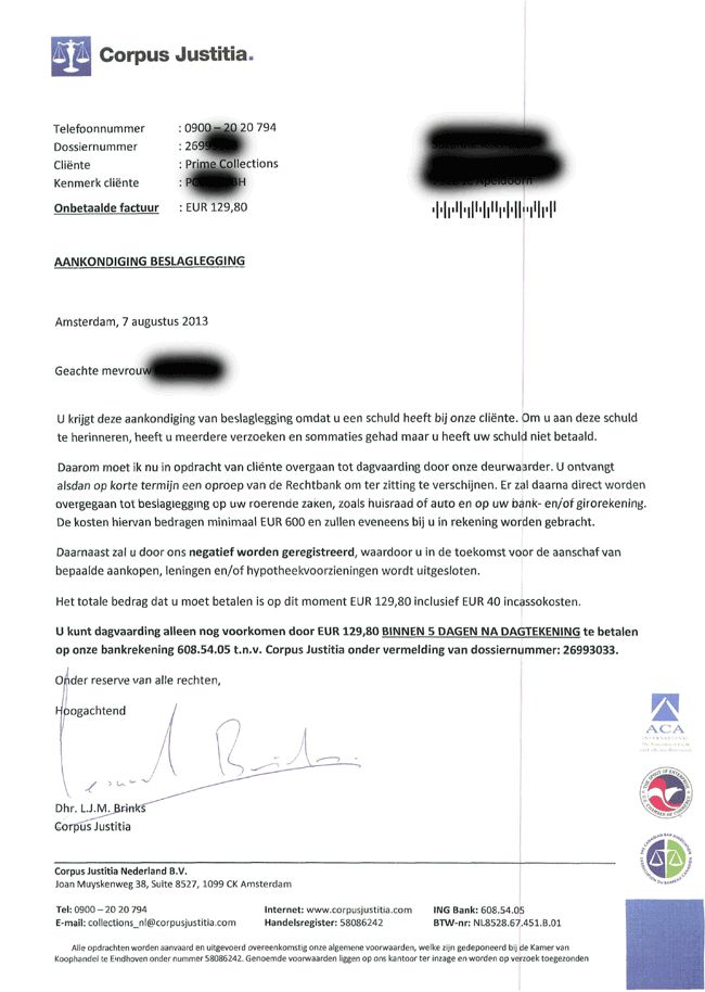 Corpus Justitia: slechte #reputatie door fraude met #spookfactuur / #spookaanmaning! - ReputatieCoaching  Zie ook: http://www.corpusjustitia.nl/