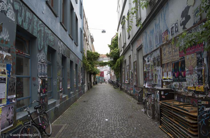 """Alley in Bremen's """"Viertel"""""""
