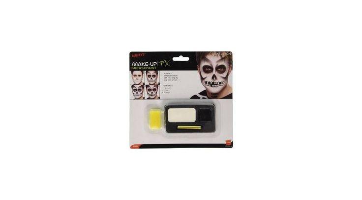 Csontváz arcfestés szórakoztatóan és egyszerűen! https://www.ajandekaruhaz.eu/halloween-116/arcfestekek-sminkek-102/arcfestekek-kremek-szettek-226/csontvaz-arcfesto-keszlet-420