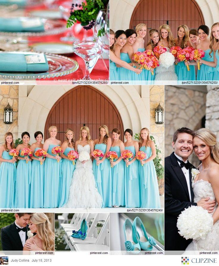 25+ Best Ideas About Aqua Wedding Colors On Pinterest