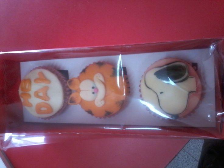Pasteleria deNaranjo. Cupcakes.