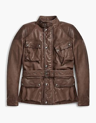 Shop the Speedmaster 2016 jacket from Belstaff. A burnished leather jacket  with heritage Belstaff detailing and four pocket design.