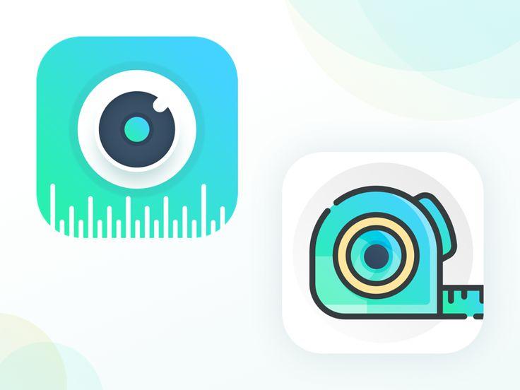 iOS app icons for meAsuRe App App icon, Ios app icon