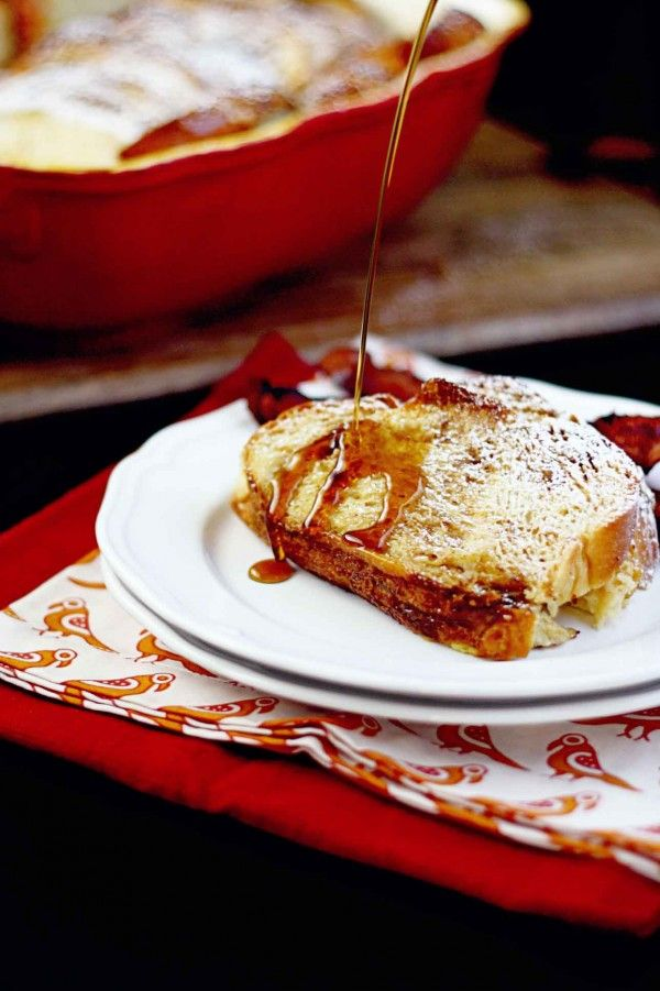 Great for holiday house guests! Overnight French Toast