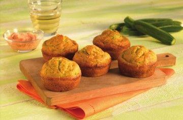 Muffin salati con zucchine e patè al tonno - Chef ASDOMAR