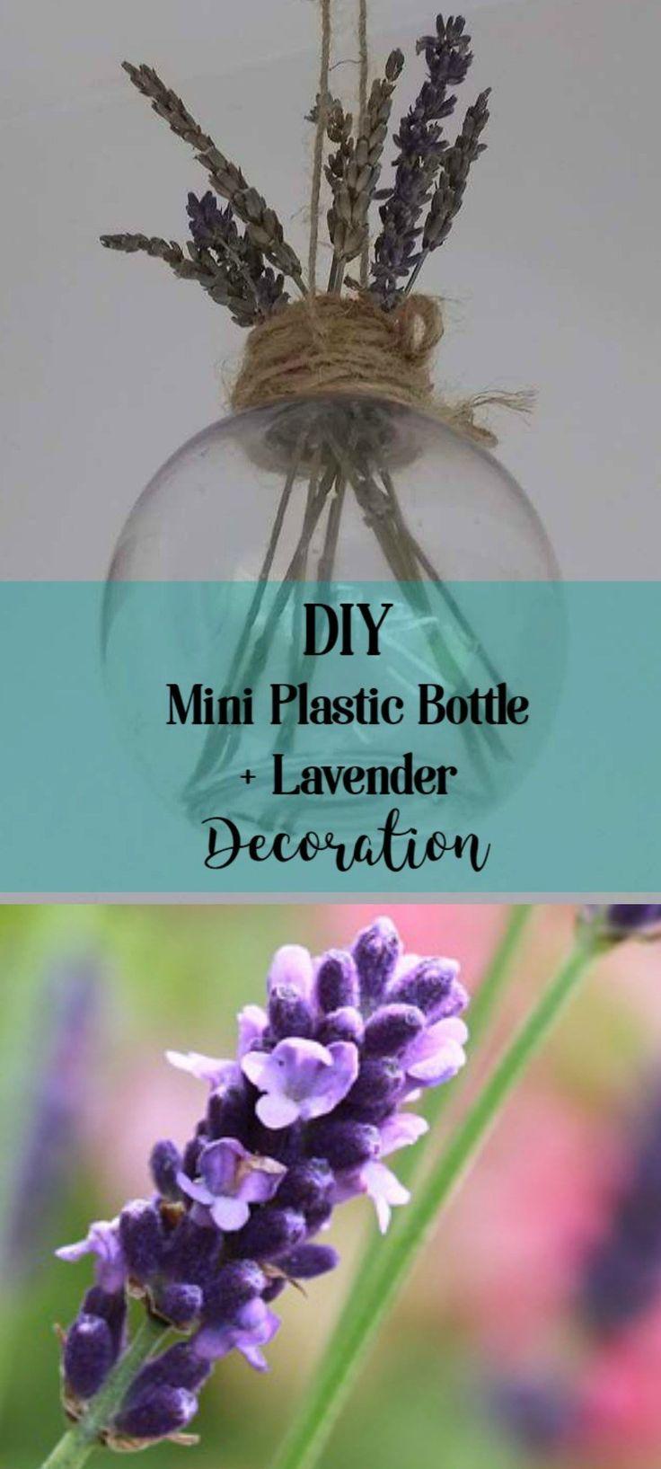 DIY Lavender Deco Home Bottle