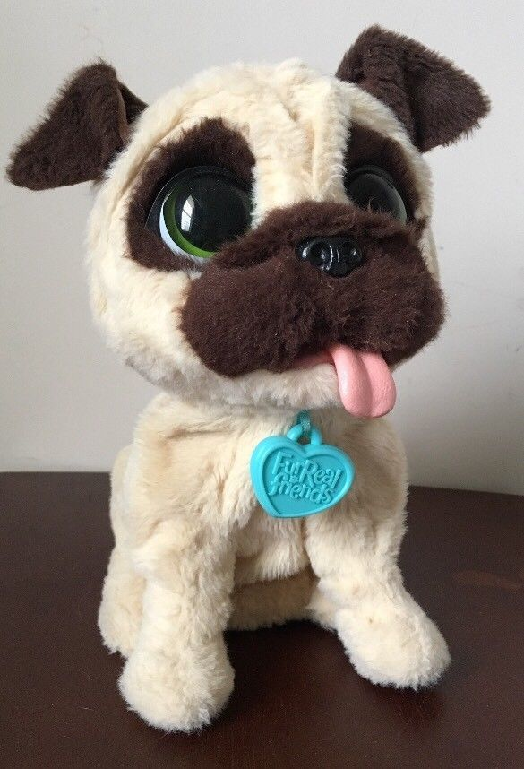 Furreal Friends Jj My Jumping Pug Puppy Pet Dog Interactive Toy