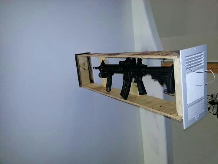 Secret rifle