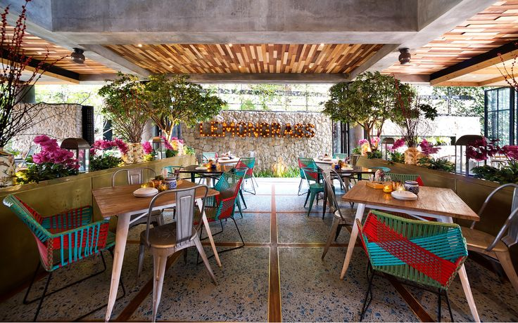 Galeria de Restaurante Lemongrass / Einstein & Associates - 2