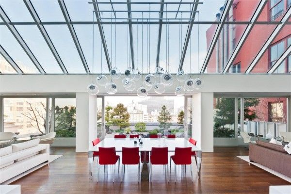 MANHATTAN: Merchant House Penthouse in Tribeca. 10/5/2012 via @1 Kind Design