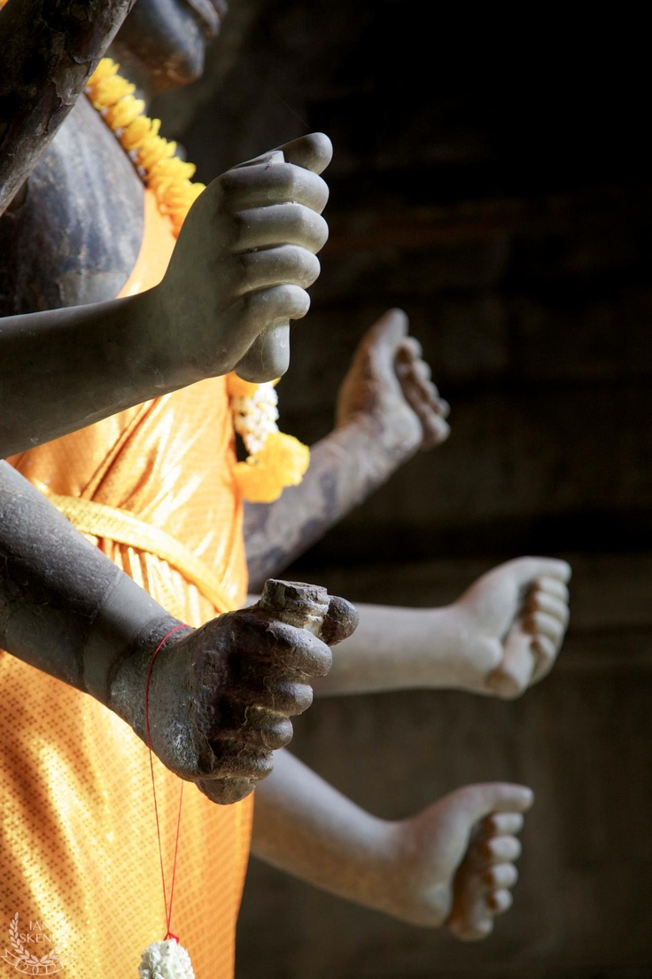 Statue in Angkor Wat, Cambodia