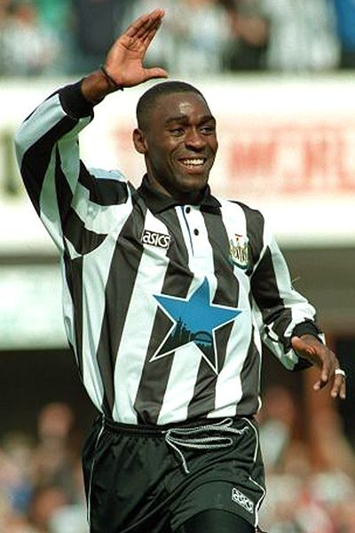Andy Cole, Newcastle United v Liverpool 21st November 1993.