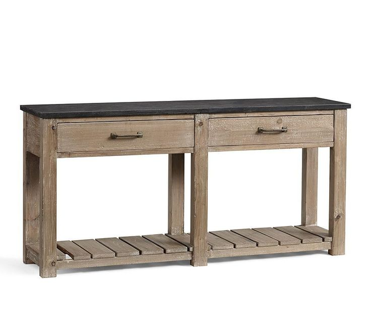 Parker Reclaimed Wood Console Table | Pottery Barn AU